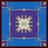 Cópia de Digitas para a tela de seda de 90*90cm para o lenço