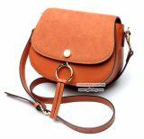 Preço de grosso Emg4934 de saco de ombro do couro da tampa da camurça das bolsas das mulheres dos sacos da fantasia