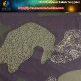 Jungle Printing Polyester Tissu en tissu simple pour chemise