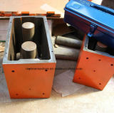 Qts1-25 Semi Automatische het Maken van de Baksteen van de Klei van de Dieselmotor Met elkaar verbindende Machine