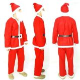 Decoración del día de fiesta de la ropa de los adultos de la Navidad (JG661)