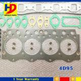 Jogo da gaxeta do motor Diesel para o jogo da gaxeta da revisão de motor de KOMATSU 4D95