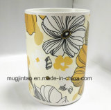 陶磁器のマグの磁器のマグのディナー・ウェアのティーカップの完全な印刷