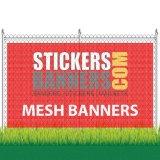 De plastic Omheining Banner&#160 van de Banner van het Netwerk; Geperforeerd Vinyl
