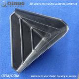 Quadratische Eckschoner des Qinuo Zoll-75*75*75 mm des Plastik3-sided