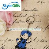 Creativa colgante Accesorios de Moda de dibujos animados de PVC Llavero del llavero de regalo promocional