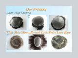 Toupee basso poli sottile di vendita caldo dei capelli umani di Remy