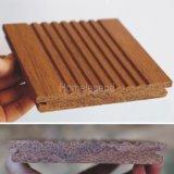 Natural populares carbonizado tejido filamento exterior Suelo de bambú / Revestimientos de suelo de bambú