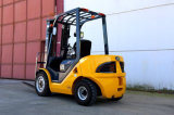 Nuevo pequeño 3ton Japón contenedor original de motor Diesel mástil carretilla elevadora