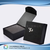 Caixa de empacotamento do indicador de madeira luxuoso do presente da jóia do relógio do cartão (xc-hbj-039)