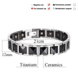 Bracelets en céramique noir et mode Bracelet en argent et noir