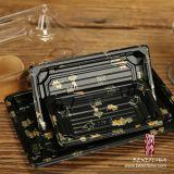 Conteneur de sushi rectangulaire en plastique jetable (B0201-03)