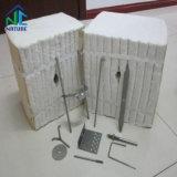 Haut de fibres de céramique réfractaire isolante Doublure du module de génération d'alimentation, module fibre de céramique