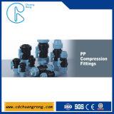 Raccord de compression PP pour l'approvisionnement en eau