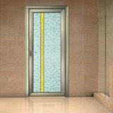 Уникально декоративные водоустойчивые алюминиевые стеклянные двери ванной комнаты