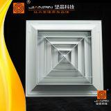 Klimaanlage-Zubehör-Luft-Diffuser- (Zerstäuber)luft-Gitter-Quadrat-Diffuser (Zerstäuber)