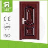 Puerta exterior del diseño simple de la puerta de la Sun-Prueba del hierro labrado de Morden Lowes