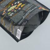 Customzied 음식 급료는 과일, 지퍼를 가진 음식을%s 비닐 봉투를 위로 서 있다