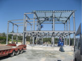 Varia estructura de acero de la construcción prefabricada para el estacionamiento del coche/la gasolinera/la exposición/Hospitcal/los muelles/los gimnasios