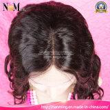 El tejido del pelo del afroamericano labra pelucas de las explosiones del chino