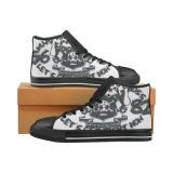 La coutume unisexe classique d'impression de sublimation de chaussures de toile font l'espadrille