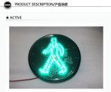 человека работы 300mm светофор модуля СИД зеленого пешеходный