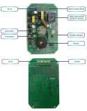 Inalámbrico portátil profesional de múltiples funciones de la casa de alarma de incendios detector de gas para la protección del hogar
