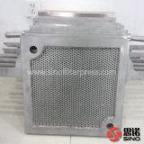 Imprensa de filtro hidráulica manual do frame da placa do aço inoxidável S.S. 304