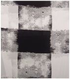 Tissu 100% polyester polyester, chiffon à la crêpe, impression plaid