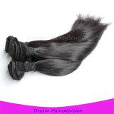 Natürliche gerades Haar-Webart-mongolisches Jungfrau-Haar