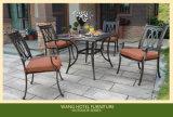 옥외 의자 옥외 가구를 위한 알루미늄 안뜰 의자