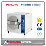 Esterilizador a vapor com mesa médica Pts-Xb20j, esterilizador hospitalar