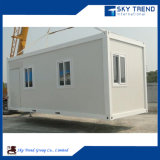 Appartamento vivente modulare del contenitore con la camera da letto e la stanza da bagno