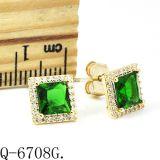 고품질 다이아몬드 귀걸이 은 925 Hotsale