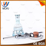 Zink-Legierung Hand-Schnitt Wasser-Rohr-Huka-Glas