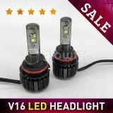 V16 LED 헤드라이트 H1 H3 H4 H7 H13 880 881 9004 9005 9006 1개의 차 LED 헤드라이트 장비 옥수수 속 Glowtec에서 터보 40W 3600lm LED 전구 전부