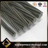 Высокий растяжимый провод Prestressed бетона стальной