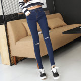 2017 Jeans der neuen Art-Großverkauf-Dame neues Modell-Jeans