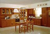 Amerikanischer Art-festes Holz-Küche-Schrank (W-0013)