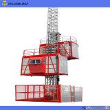 Ascenseur de construction de fréquence de Sc200/200 2ton