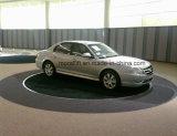 سيّارة 360 درجة يدور من مرسبة سيارة قرص دوّار