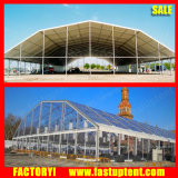 De grote Tent van de Gebeurtenis van de Markttent van het Huwelijk van de Partij van de Markttent van de Partij Transparante Veelhoekige