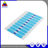 Raspe personalizadas adesivo etiqueta autocolante de papel de impressão