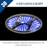 Firmenzeichen-Abzeichen-Licht des Lmusonu Automobil-Auto-3D LED für Hyundai
