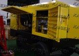 Compressore d'aria portatile a diesel della vite