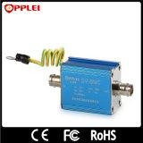 protecteur de saut de pression coaxial d'appareil-photo de télévision en circuit fermé de signal vidéo de 1-Port BNC