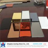 Farbe/Bügel-silberner Spiegel/Aluminiumspiegel für Badezimmer-/Wand-Glas