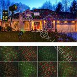 Décoration extérieure allumant le projecteur multi de laser de lumière de Noël de couleur pour la pelouse, arbre, centrale