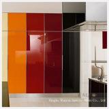 チンタオは家具のための塗られたガラスを和らげた
