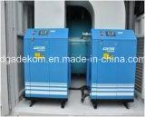 Compressore d'aria rotativo della vite del sistema messo in recipienti di alta qualità (KCCASS-37*2)